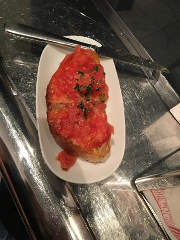Amazing pan con tomate